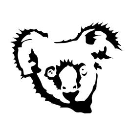 Koala Stencil