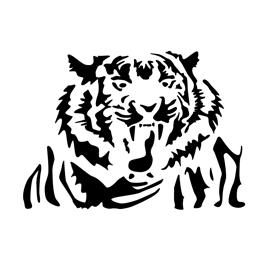 Tiger Stencil 03