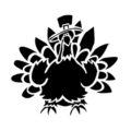 Turkey Stencil 02