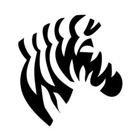 Zebra Profile Stencil