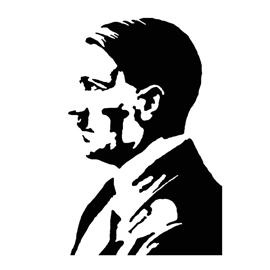 Adolf Hitler Stencil