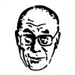 Dalai Lama Stencil