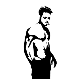 Fight Club – Tyler Durden Stencil