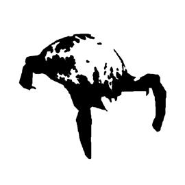 Half-Life Headcrab Stencil
