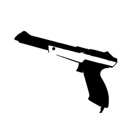 Nintendo – NES Zapper Stencil