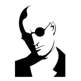 Natural Born Killers-Mickey Knox Stencil