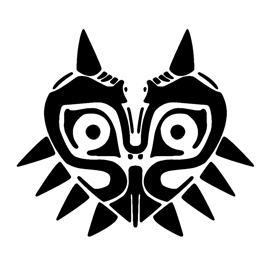 The Legend of Zelda – Majoras Mask Stencil