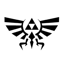 The Legend Of Zelda Triforce Symbol Stencil Free