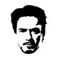 Tony Stark Stencil