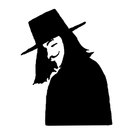V for Vendetta Stencil