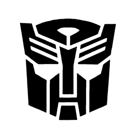 Transformers – Autobot Symbol Stencil