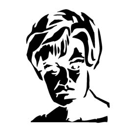 American Horror Story – Constance Langdon Stencil