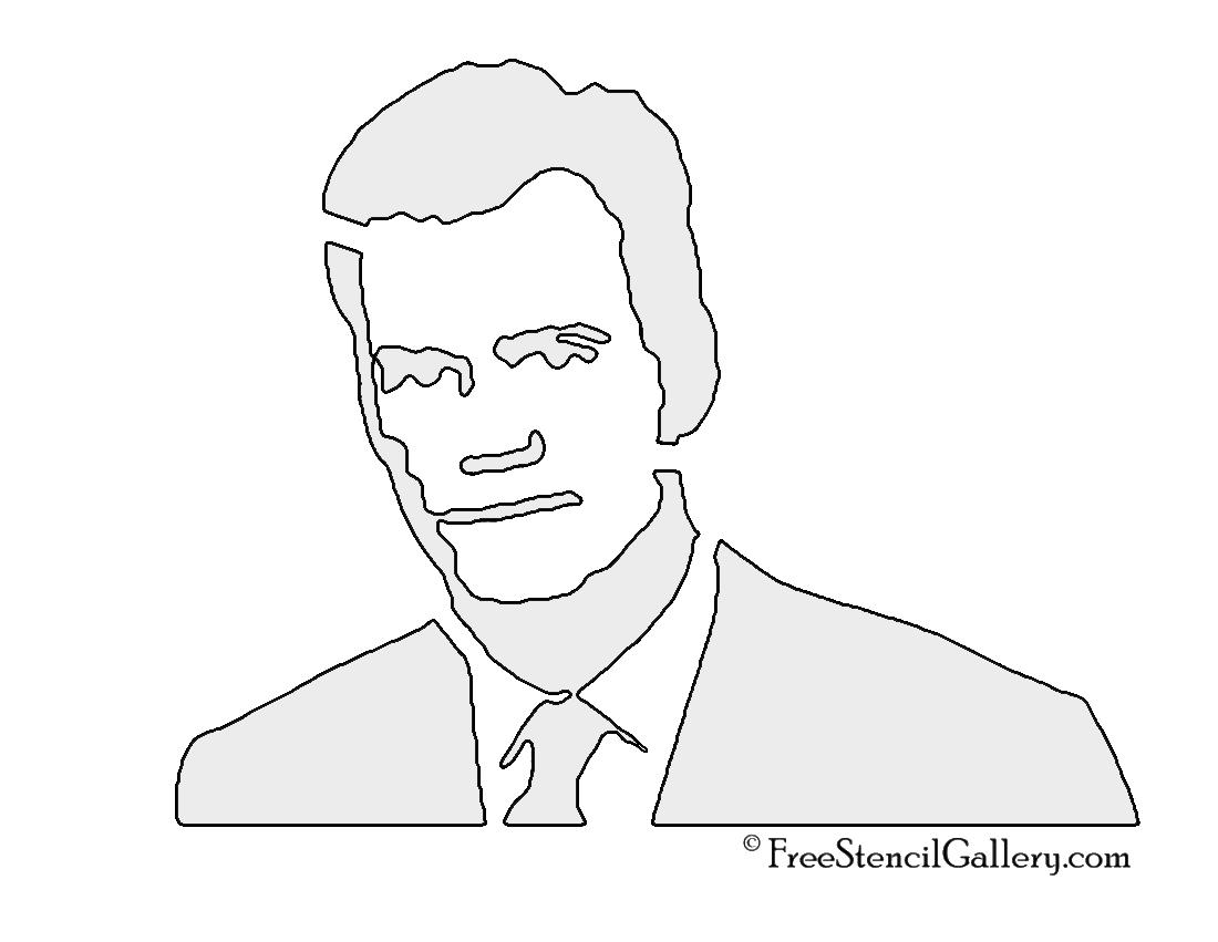 Chris Hansen Stencil