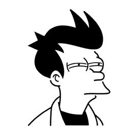 Futurama – Fry Stencil