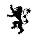 Game of Thrones - House Lannister Sigil Stencil