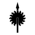 Game of Thrones - House Martell Sigil Stencil
