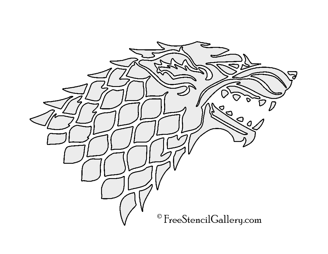 Obsessed image throughout game of thrones stencil printable