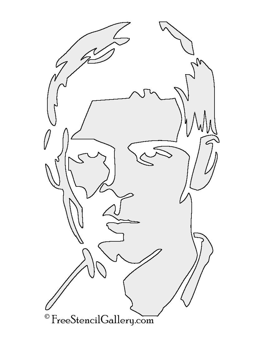Vampire Diaries Klaus Stencil Free Stencil Gallery