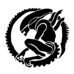Alien Xenomorph Stencil