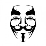 Anonymous Guy Fawkes Mask Stencil