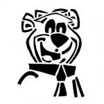 Yogi Bear Stencil