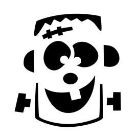 Frankenstein Stencil 01