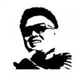 Kim Jong Il Stencil