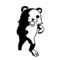 Meme Bear Stencil