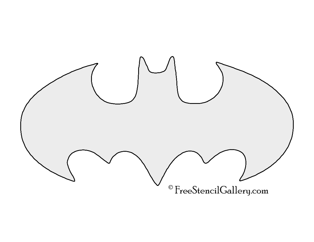 Gargantuan image for batman stencil printable