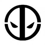 Deadpool Logo Stencil