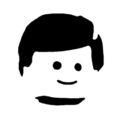 Lego Face Stencil