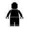Lego Man Stencil
