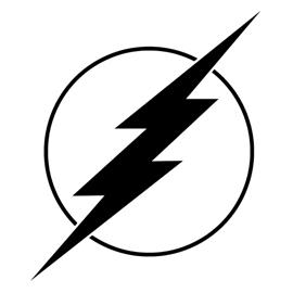 how to draw flsh symbol