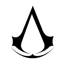 Assassin's Creed Symbol Stencil