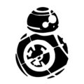 BB-8 Stencil