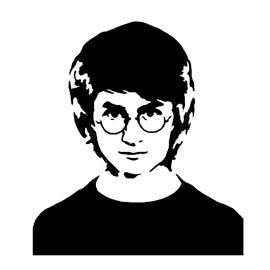 Harry Potter Stencil
