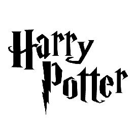Harry Potter Title Stencil