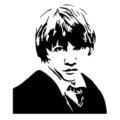 Ron Weasley Stencil