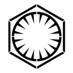 Star Wars First Order Symbol Stencil