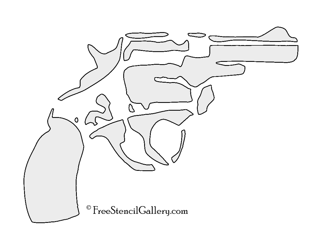 It is a photo of Refreshing Gun Stencils Printable