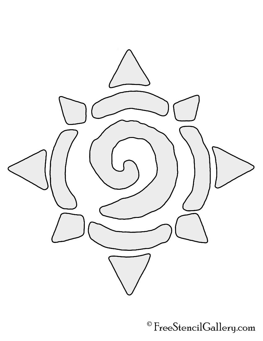 Hearthstone Symbol Stencil
