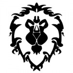 Warcraft Alliance Symbol Stencil