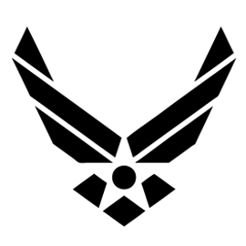 Air Force Logo Stencil Free Stencil GalleryU.s. Air Force Logo Black And White