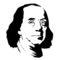 Benjamin Franklin Stencil