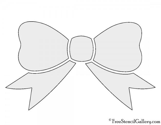 Bow Stencil