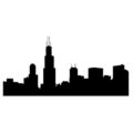 Chicago Skyline Stencil