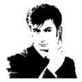 Doctor Who Stencil