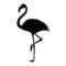 Flamingo Silhouette Stencil