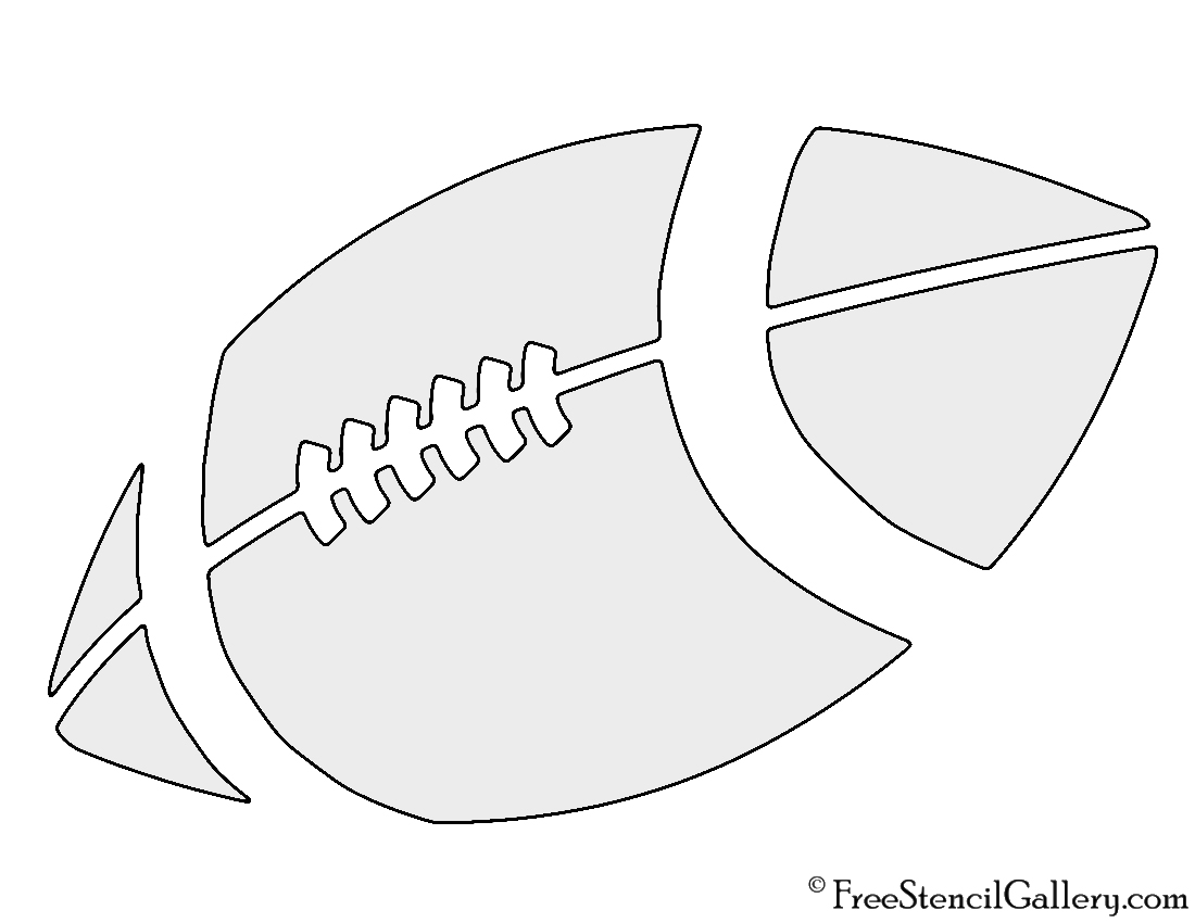 Football stencil template free download champlain
