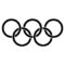 Olympic Rings Stencil